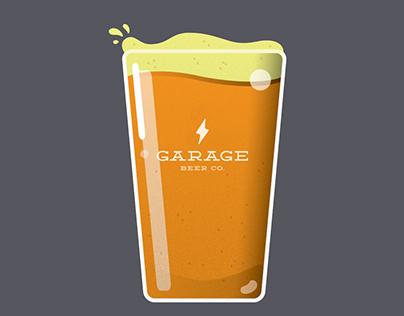 Garage Beer Co. Illustrations