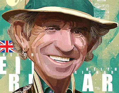 Keith Richards / Revista CARAS / Vicente Marti Solar