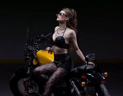 Portrait / Motorcycle