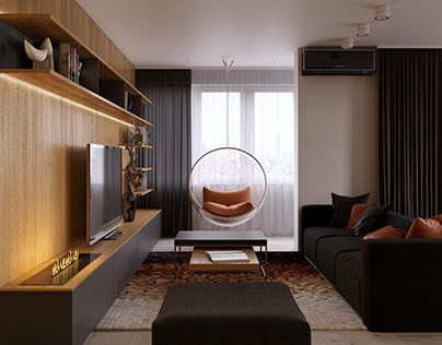 Family apartment in Samara