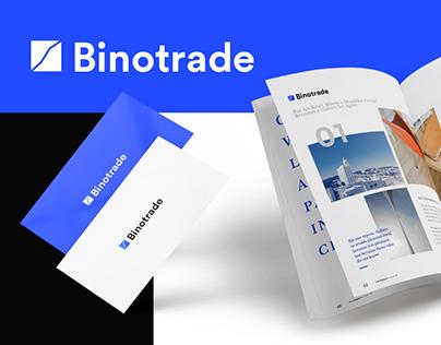 Binotrade — logotype | LandingPage Design