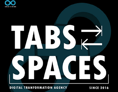 Logo Concept for Tabs & Spaces