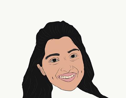 My works - Nivedha thomas