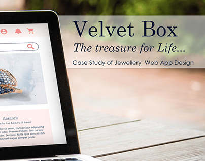 Velvet Box Web App Case Study