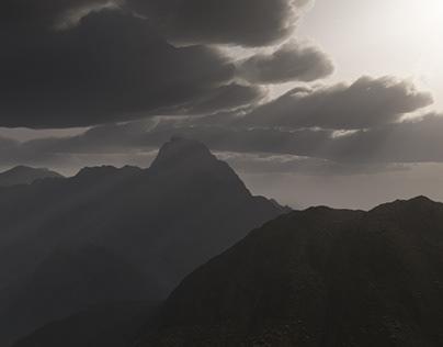 Matte Painting Mountain