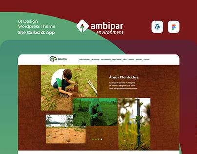 UI Site CarbonZ App - Ambipar Group
