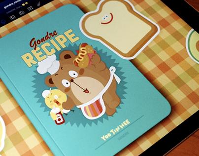 Gondre Recipe Book for iPad