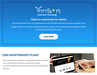 Ensuring potential customers using website Maintenance