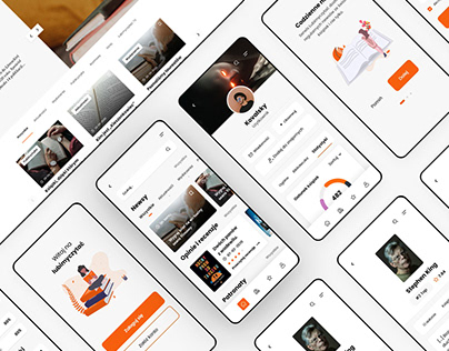 Lubimyczytac.pl redesign & mobile app concept