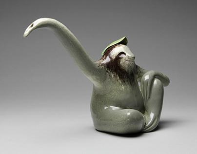 Sloth Teapot