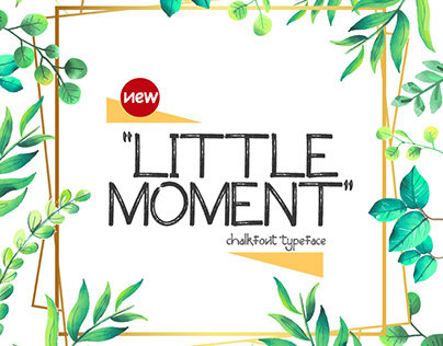 Little Moment Fonttype