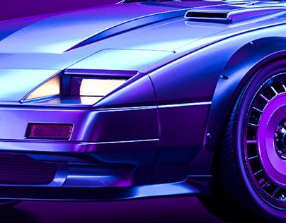 Nissan 300ZX Z31 neon