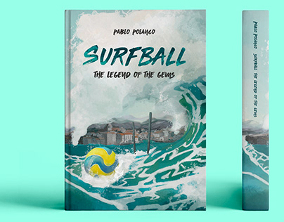 Surfball, Book Cover Illustration