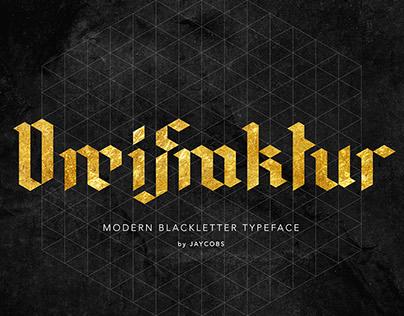 DreiFraktur | FREE Modern Blackletter Typeface
