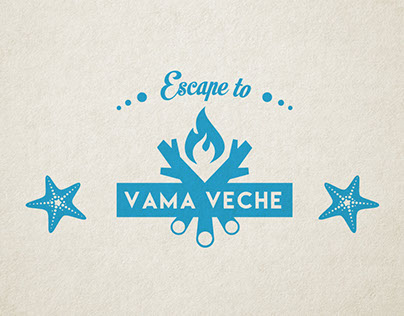 "The identity for ""Escape to Vama Veche"" event."