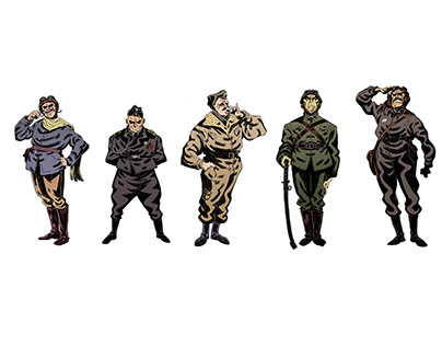 WearWar (characterdesigns)