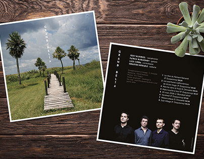 GRAND DELTA, pochette et CD
