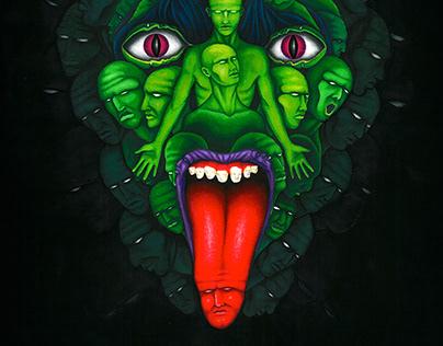 "VIPERIUM ""Antropofobia"" Album Artwork & Logo"