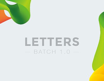 Letters Batch 1.0