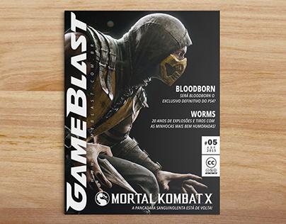 Capas Revista Gameblast