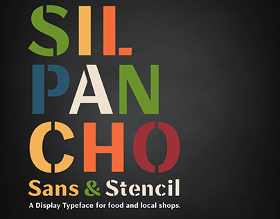 SILPANCHO Sans & Stencil