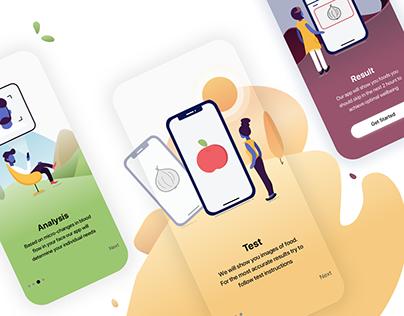 Health Mobile App. Onboarding