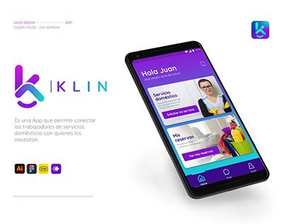 Klin - App servicios domésticos