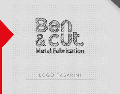 Ben&cut Metal Fabrication Logo Tasarım