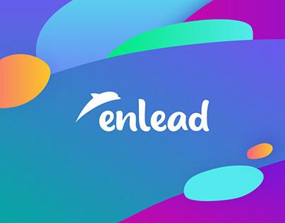 Enlead logo | BRAND DESIGN