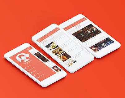 Ordo   Food Delivery App