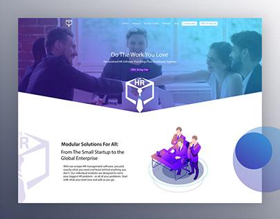 The HR System Website Design & Development