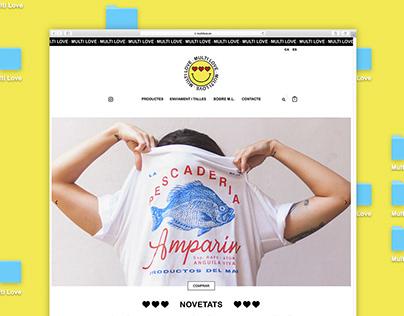 Web design for Multi Love