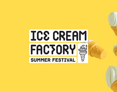 Ice Cream Factory - Summer Festival 2018