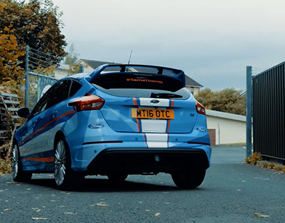 Ford RS - #TameTheHill Car Vinyl Wrap (nexus24 LTD)