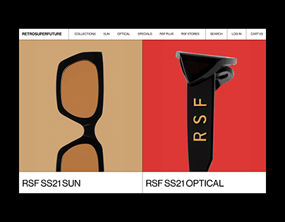 Retrosuperfuture — E-commerce Website Redesign