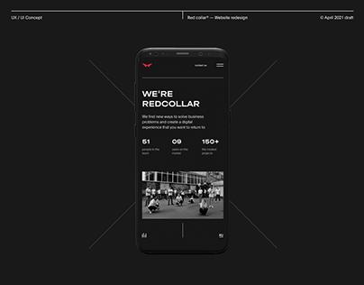 Red Collar® Agency - New website design