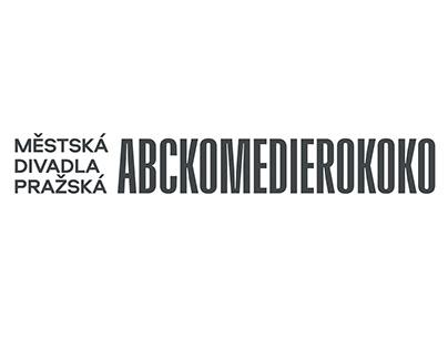 New visual identity of Prague City Theatres