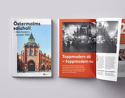 Magazine Östermalm Markethall