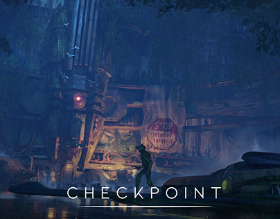Checkpoint. The pass to another world.