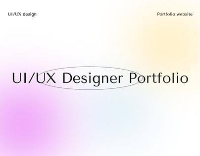 Minimalist Portfolio Website Design