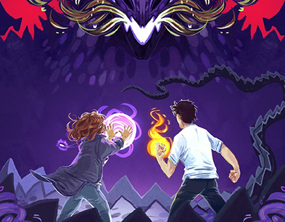 Young Adult Book Cover Illustration modern fantasy
