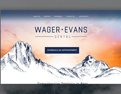 Wager-Evans Dental Website