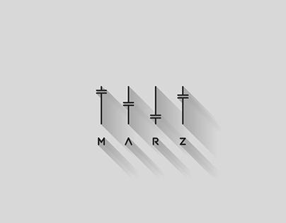 M A R Z logo + brand elements