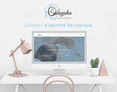 Odayaka.fr - Logotype & site web / DA & Webdesign