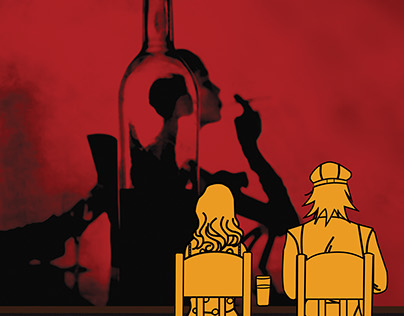 Grottesque Bar // series of posters //