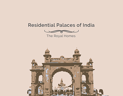 Residential Palaces of India: Layout & Editorial Design