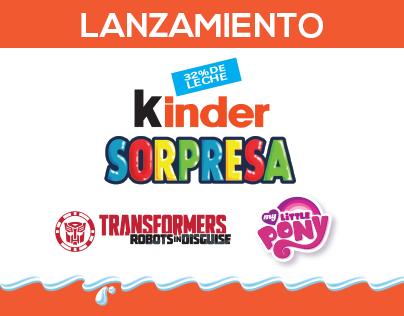 Kinder Sorpresa + Hasbro · Feria del Café Carulla