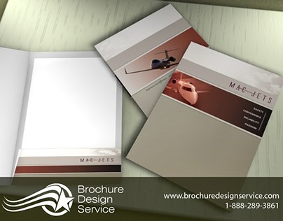 Brochure Design for Rental Company