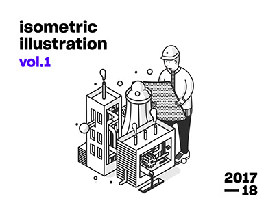 Isometric illustration vol.1
