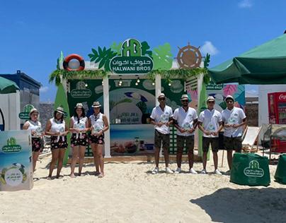 Halwani Summer Booth